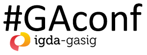 GA Gaming Accessible Conference logo