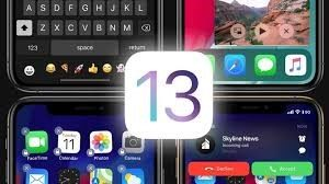 Four iphone screens with the number 13 in center of picture
