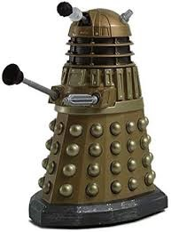 CLoe up of green dalek